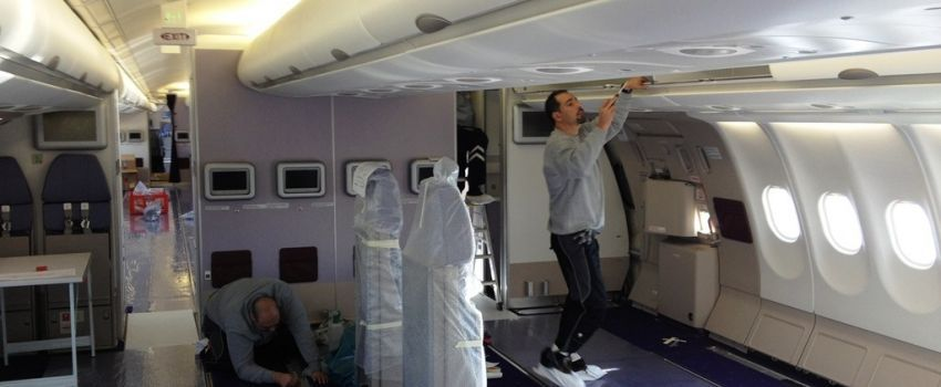 Cabin Interior Refurbishment - AES Airplane-Equipment & Services GmbH
