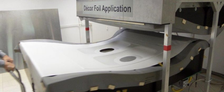 Decor Foil Application - AES Airplane-Equipment & Services GmbH