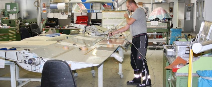 Structural Maintenance Work - AES Airplane-Equipment & Services GmbH