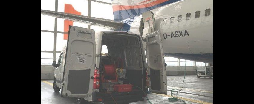 Wasteline Cleaning / Videoscope surveillance - AES Airplane-Equipment & Services GmbH